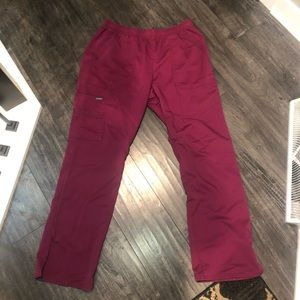 Sanibel Scrub purple pants size large